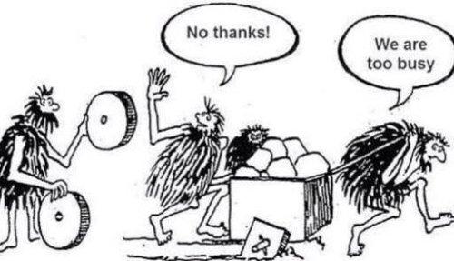 你是那個忙到沒有時間見廠商的採購嗎?