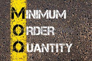 Image minimum order quantity