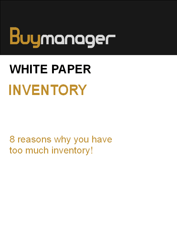 Buymanager white paper EMS inventory management
